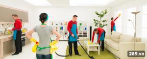 Dịch vụ vệ sinh nhà cửa của vệ sinh công nghiệp 289
