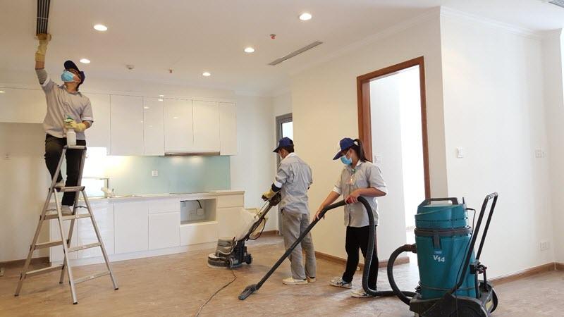 Dịch vụ vệ sinh nhà cửa tổng hợp