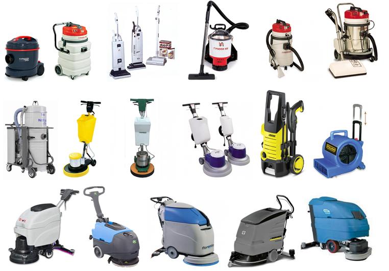 Các thiết bị chuyên dụng cho việc vệ sinh công nghiệp